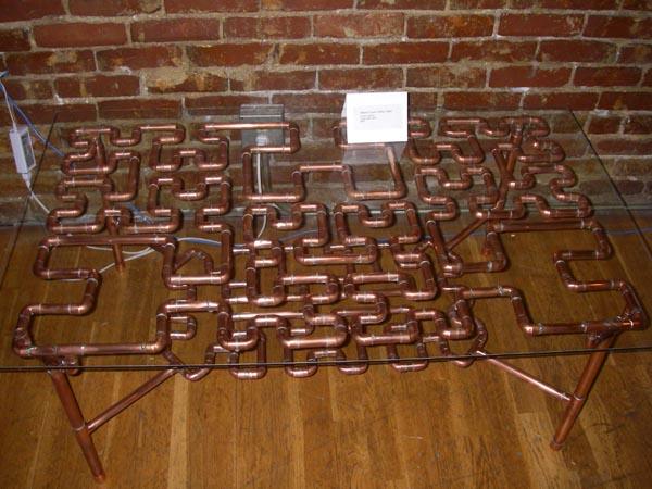 Hilbert Curve Coffee Table